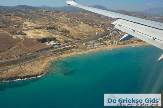Landing vliegtuig Kreta